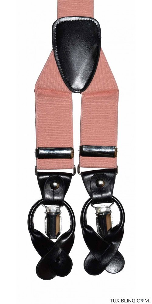 PEACH SUSPENDERS