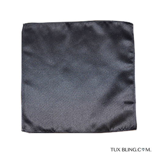 charcoal pocket handkerchief by San Miguel Formals