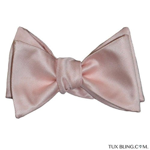 BLUSH BOWTIE, TIE-YOURSELF