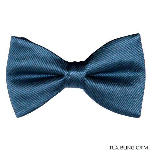 SERENE BLUE BOWTIE, PRE-TIED