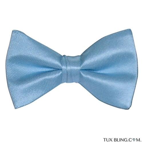 CAPRI BLUE BOWTIE, PRE-TIED