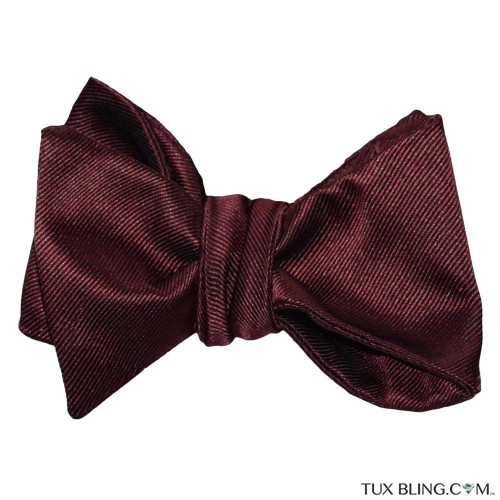 MERLOT BOWTIE, TIE-YOURSELF