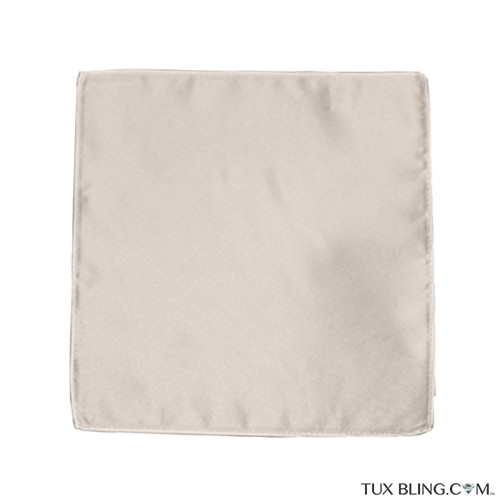 nude pocket handkerchief by San Miguel Formals