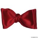 Red Satin Bowtie-Tie Yourself