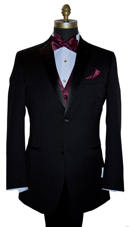 men's wine tie-yourself bowtie and wine vest on tuxbling.com