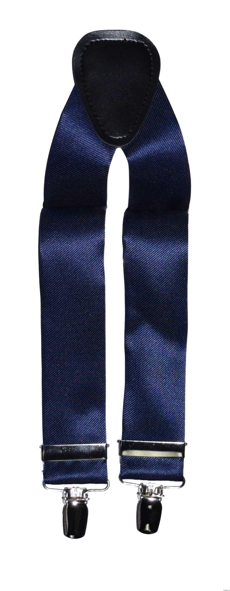 navy-blue suspenders