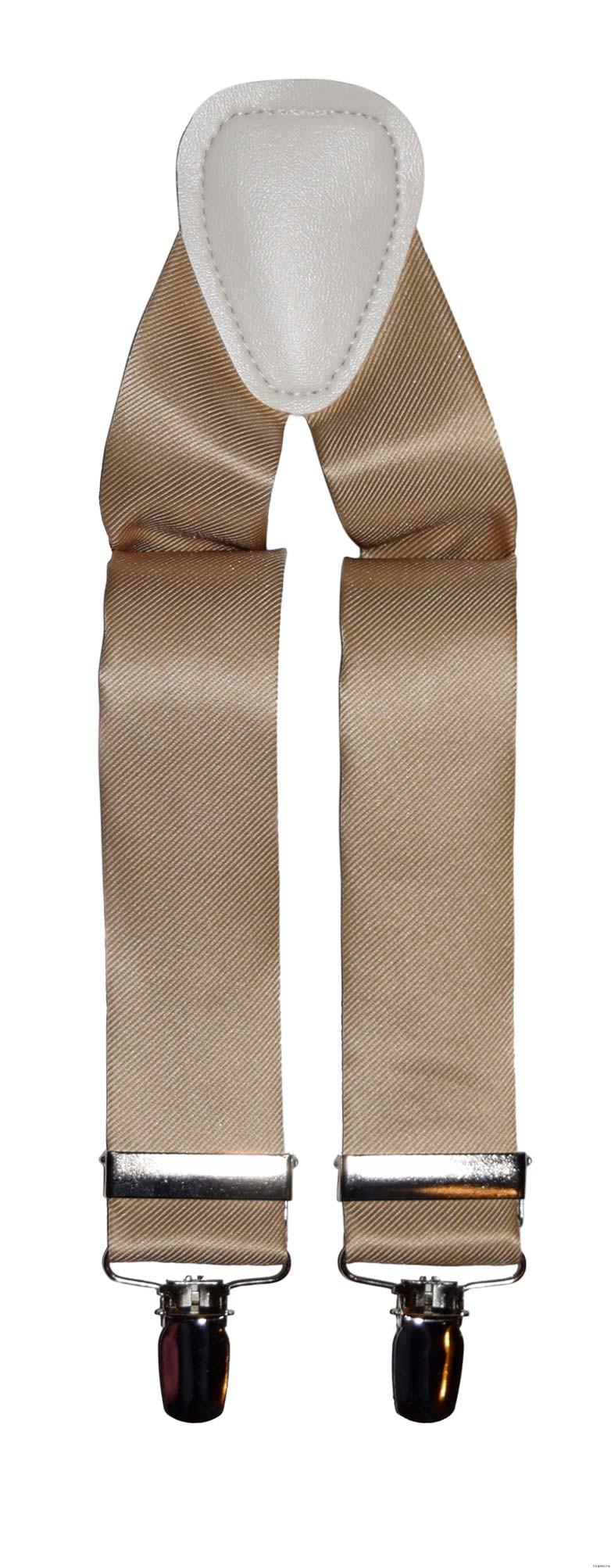 pale-gold suspenders