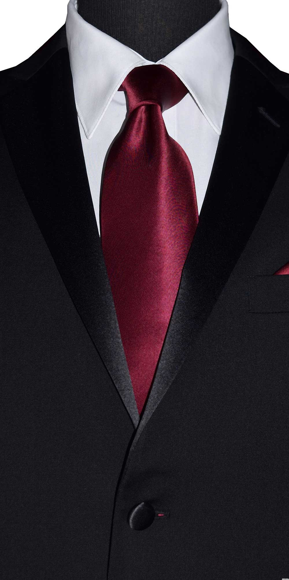 wine silk men's long dress tie