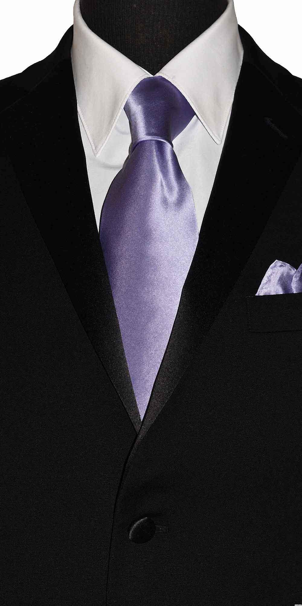 lilac-orchid men's long tie at tuxbling.com