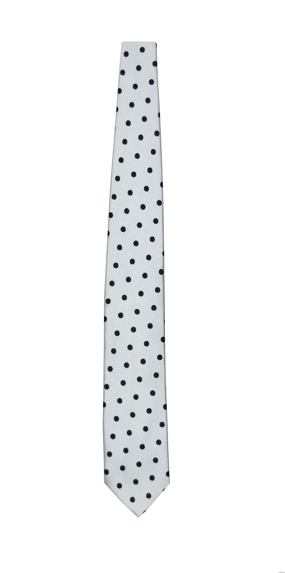 men's polka dot dress tie and pocket hanky