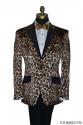Leopard Tuxedo Jacket Ensamble